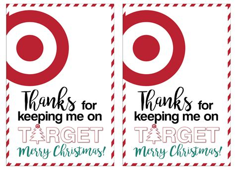 Can I Use Target Gift Cards To Buy Gift Cards - target christmas gift card holders teachers friends neighbors paper trail design