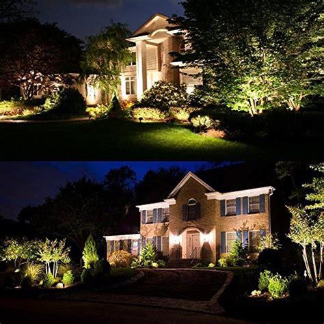 landscape lighting 48127 zuckeo 5w led landscape lights 12v 24v waterproof garden path lights warm white walls trees