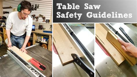 Table Saw Safety by Table Saw Safety And Guidelines