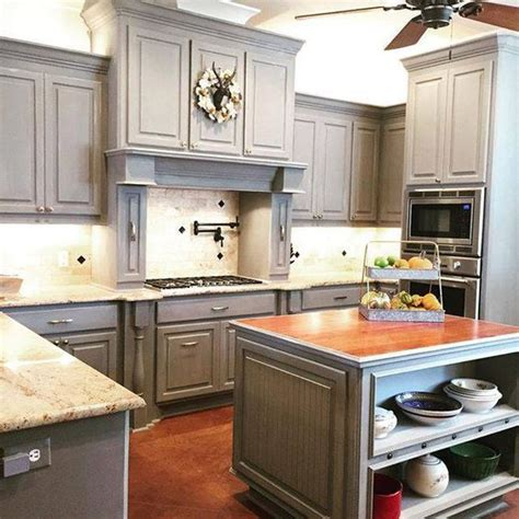 chalk paint grey cabinets the s catalog of ideas