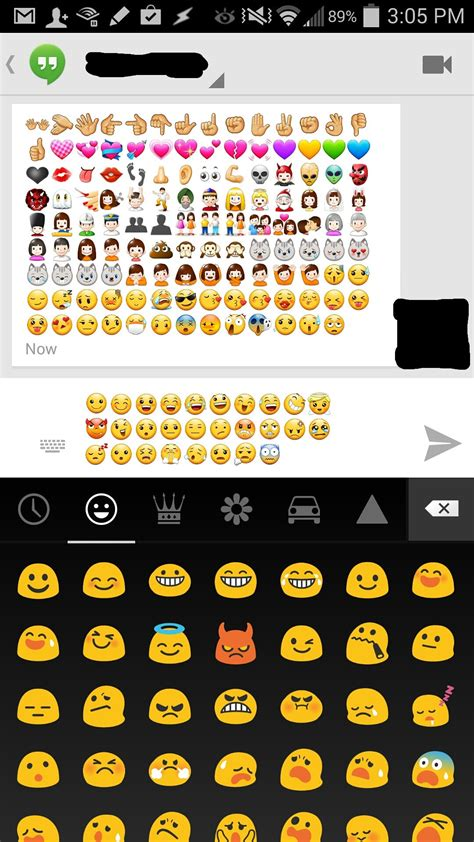 samsung emoji re downloaded the kitkat update last emoji sprint community