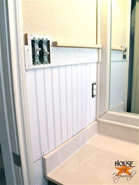 Beadboard Wainscoting Bathroom Height Beadboard Height Images Frompo