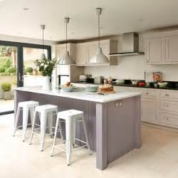 kitchen island unit take a look at this bespoke budget kitchen housetohome