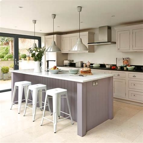 shaker kitchen island take a look at this bespoke budget kitchen housetohome