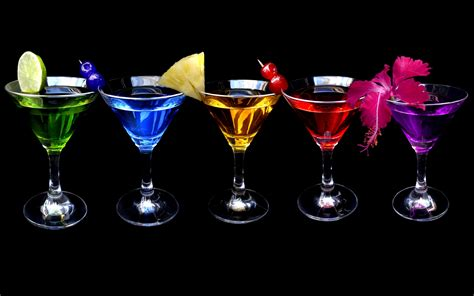 colorful cocktails wallpapers and images wallpapers