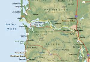 Map Of Oregon Rivers by Map Of Astoria Oregon Rivers Bay Ocean My Old Stompin