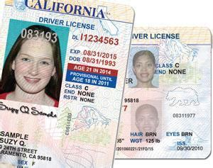 california id template new look for california driver s licenses and id cards