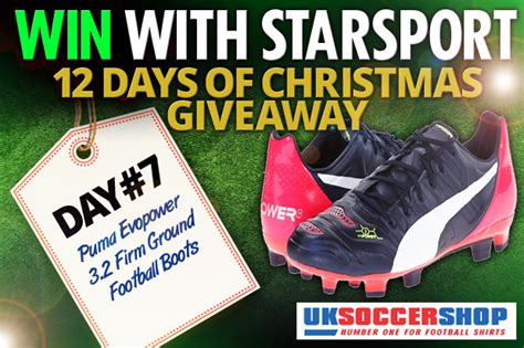Football Boots Co Uk Giveaway - competition win a pair of puma football boots daily star
