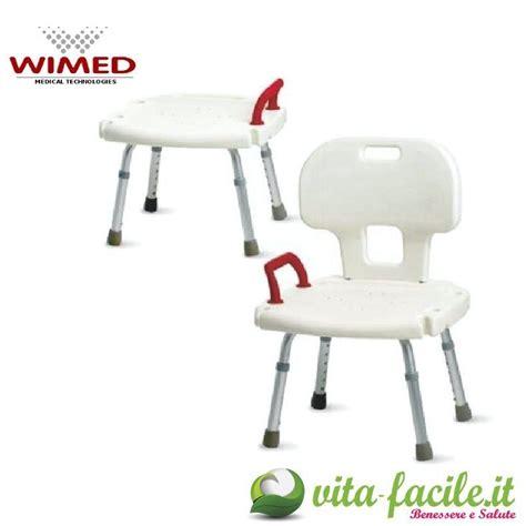 sedie doccia sedia doccia sedia doccia con schienale su vita facile it