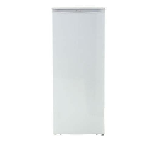 danby 8 5 cu ft upright freezer in white dufm085a2wdd1