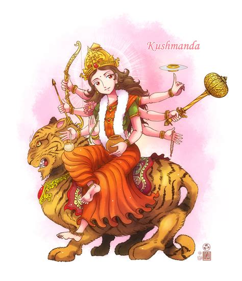 chat mata wallpaper kushmanda mata by in sine on deviantart