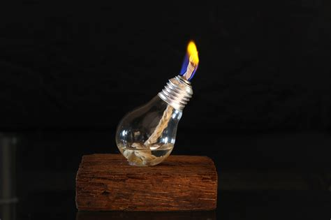 light bulb with two how to make a light bulb oil l with pictures wikihow