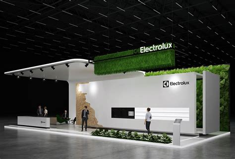 electrolux exhibition stand design gm stand design