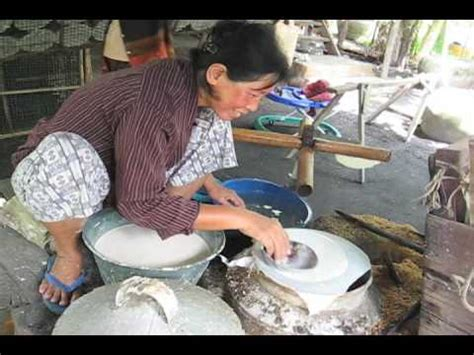 How To Make Rice Paper At Home - rice paper in cambodia