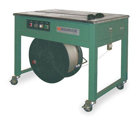 Paket Puyama Size 1 5 signode semi automatic table top strapping machine
