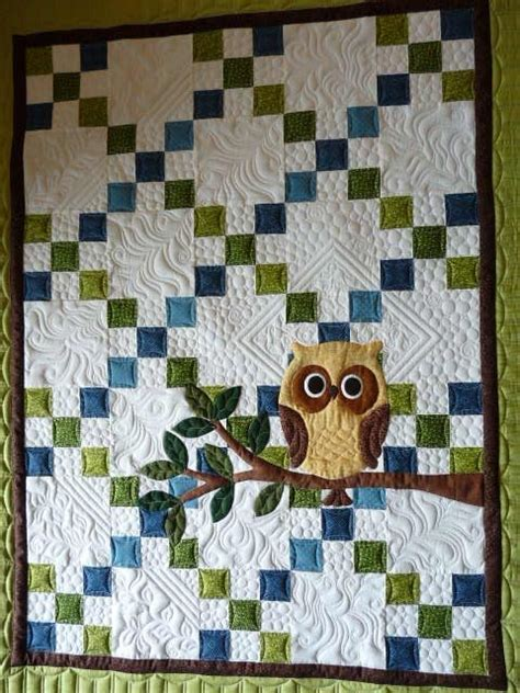 Owl Baby Quilt Pattern by 25 Best Ideas About Owl Quilt Pattern On Owl Quilts Owl Applique And Owl Patterns