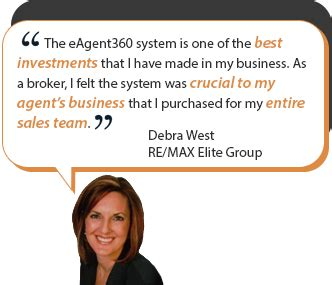 Testimonial Real eagent360 complete real estate marketing solution
