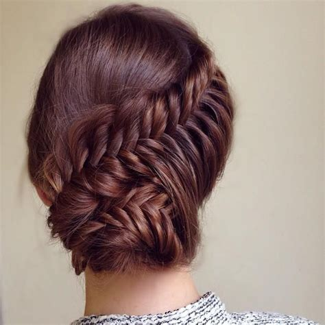 the perfect braid 15 fashionable natural updo hairstyles for ladies