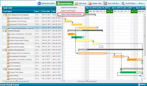 project management gantt chart excel template best photos of excel calendar templates for projects in