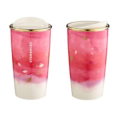 Grande Tumbler Pink 350ml deluxe starbucks collection 2016