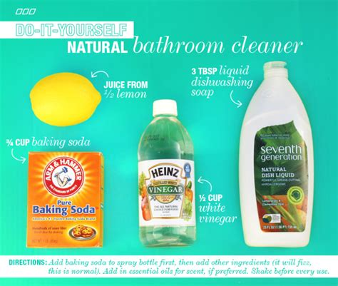 natural cleaning bathroom 6 all natural household dyi cleaners lpn s post on move