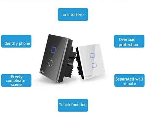 smart touch remote home automation wifi devices