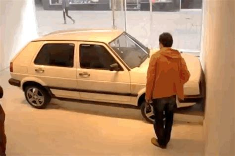 car crash art gif by vulture.com find & share on giphy