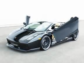 2006 Lamborghini Gallardo Spyder 2006 Hamann Lamborghini Gallardo Spyder Side Angle Top