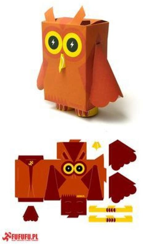 Print And Make Paper Toys - diy birds craft 24 easy paper owl craft ideas for
