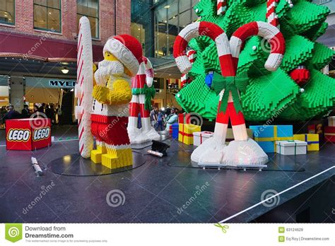 the celebrated in sydney with lego decorations editorial stock