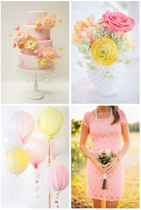 25 best ideas about pink yellow weddings on yellow pink yellow and chevron