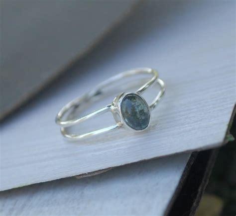 grey tourmaline ring gemstone ring grey