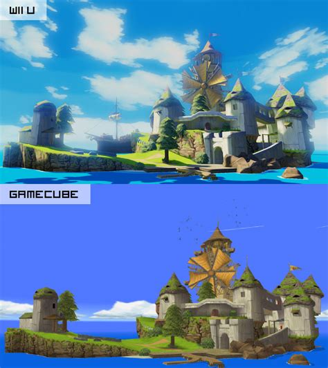 wii vs gc graphics the the legend of the wind waker hd review humble bazooka