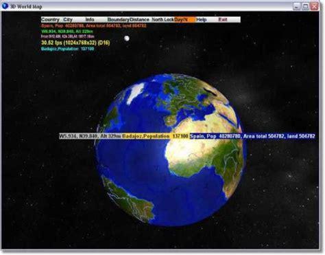 descargar globe maps 3d world map descargar