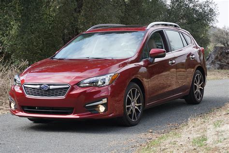 2017 subaru impreza hatchback red the best hatchbacks you can buy and 6 alternatives