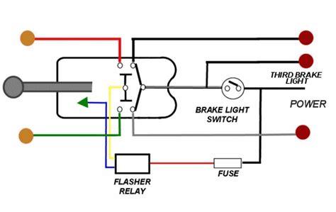 brake light wiring   wire turn signal   hamb