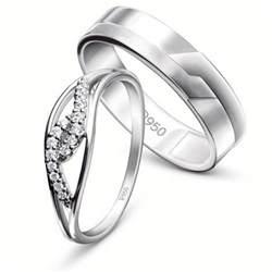 platinum couple rings bonded forever jl pt 455 certified by pgi jewelove