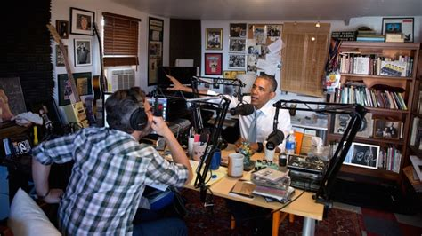 marc maron house 10 most fascinating quotes from obama s wtf chat with marc maron rolling stone