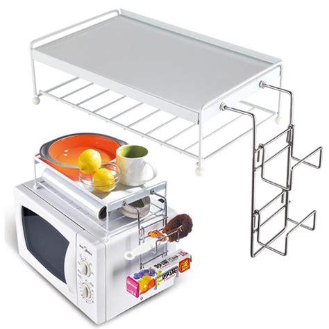 mensola per microonde mensola organizer per forno microonde ripiano superiore