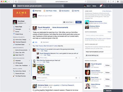 fb home facebook inc nasdaq fb is working on a slack killer app