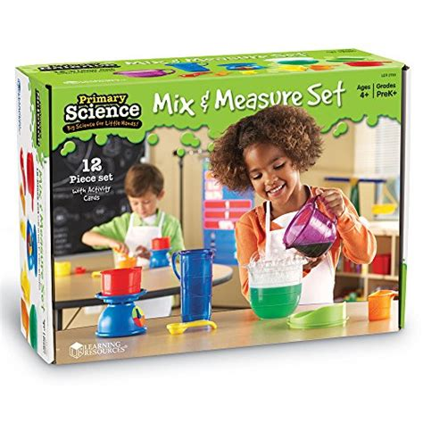 Sale Learning Resources Primary Science Mix Measure Set learning resources primary science mix and measure set