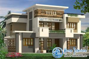 Home Desing 3500 Sqft 4bhk Contemporary Style House Design