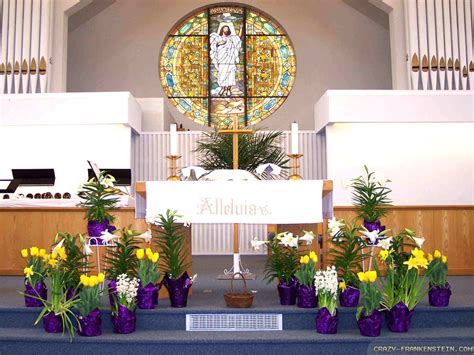 easter sunday service decorations image gallery easter church