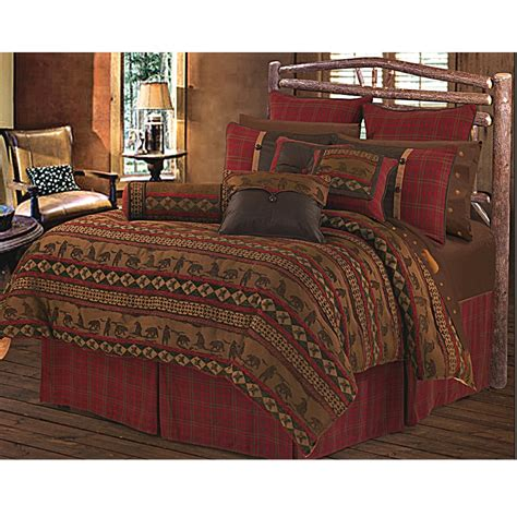 cascade lodge cabin bedding rustic comforter
