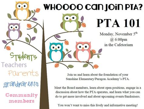Invitation Letter To Parents For Pta Meeting Pta Board Meeting Invitation Invitations Ideas