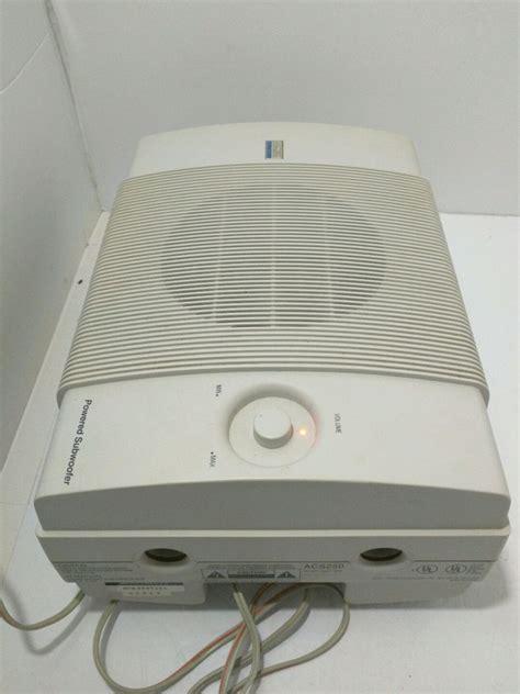 Speaker Multimedia altec lansing multimedia acs250 computer speaker system