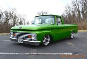 Ford F100 Unibody Purchase Used 1963 Ford F100 Unibody Restomod Well Done