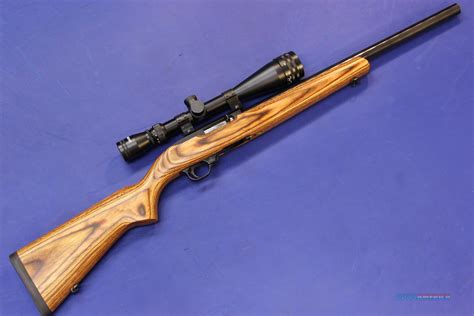 22 long rifle ruger 10 22 target 22 long rifle w scope for sale
