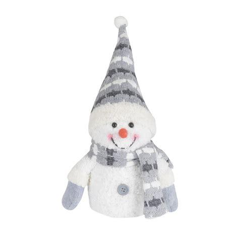 blue grey light up snowman decoration novelty christmas 33