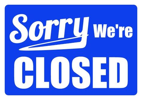 Closed Sign Template closed sign template www pixshark images galleries with a bite